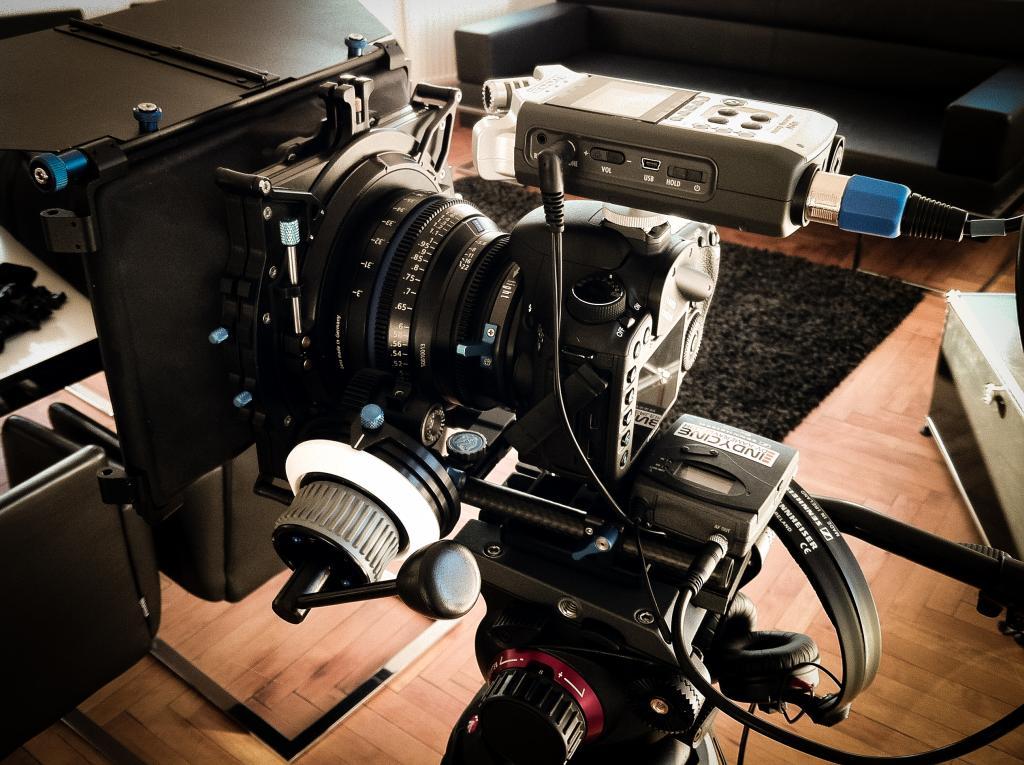 My main camera setup for a corporate film shoot - Sebastian