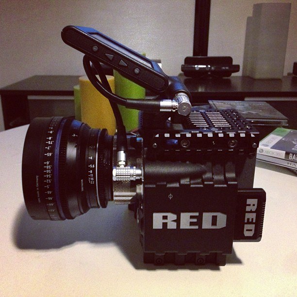 Used my Red Scarlet for some family stuff today. I'll probably order an Epic. Lovely camera. BTW: Selling my Sony FS700.