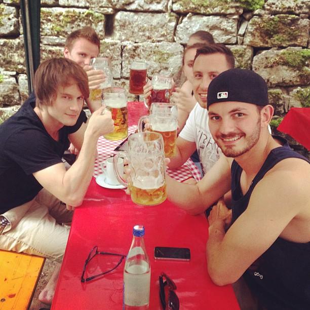 #Annafest with my team. #forchheim