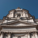 Symmetry in Rome. #symmetry #streetphotography #fuji #x100t #rome